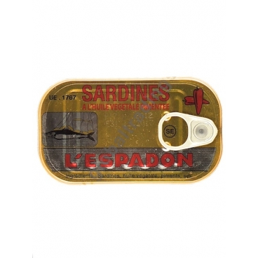 ESPADON GIALLO - SARDINE IN OLIO PICCANTE 50x125g