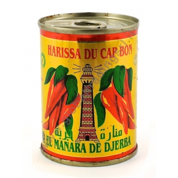 Tucal Harissa Du Cap Bon Salsa Harissa 24x380g Global
