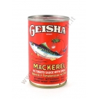 GEISHA MACKEREL TOMATO & CHILLI - SGOMBRI IN SALSA PICCANTE 50x155g