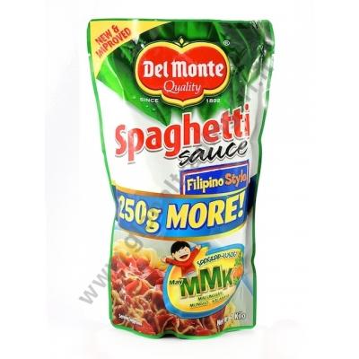 Del Monte Spaghetti Sauce Filipino Style Salsa Al Pomodoro 18x1kg