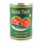 GHANA TASTE MACKEREL - SGOMBRO IN SALSA DI POMODORO 24x425g