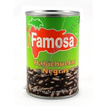 FAMOSA HABICHUELAS NEGRAS - FAGIOLI NERI 24x425g