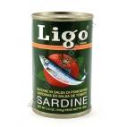 LIGO VERDE - ALACCE IN SALSA DI POMODORO 100x155g