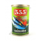 555 ALACCE IN SALSA DI POMODORO 50x155g