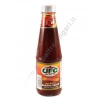 UFC BANANA SAUCE HOT - SALSA ALLA BANANA 24x320g