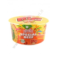 LUCKY ME SUPREME BOWL SPECIAL BEEF - NOODLES ISTANTANEI 24x65g