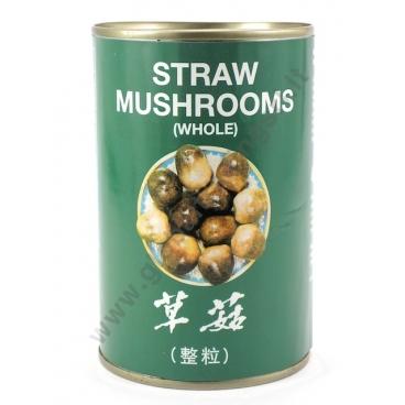 AEF STRAW MUSHROOMS - FUNGHI AL NATURALE 24x425g