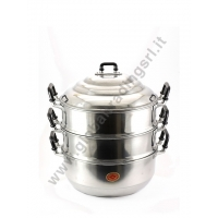 DIAMOND ALUMINIUM STEAM POT COOKER (24cm)
