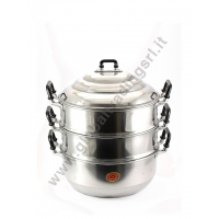 DIAMOND ALUMINIUM STEAM POT COOKER (26cm)