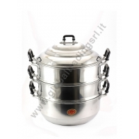 DIAMOND ALUMINIUM STEAM POT COOKER (28cm)