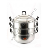 DIAMOND ALUMINIUM STEAM POT COOKER (30cm)