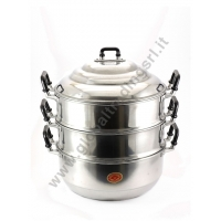 DIAMOND ALUMINIUM STEAM POT COOKER (32cm)