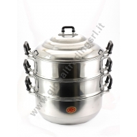 DIAMOND ALUMINIUM STEAM POT COOKER (34cm)