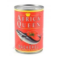 AFRICA QUEEN MACKEREL TOMATO - SGOMBRO AL POMODORO 24x425g