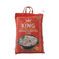 KING GOLDEN SELLA PARBOILED RISO BASMATI 4x5kg