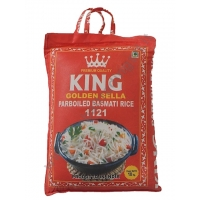 KING GOLDEN SELLA PARBOILED RISO BASMATI 2x10kg