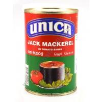 UNICA JACK MACKEREL TOMATO - SUGARELLI AL POMODORO 24x425g