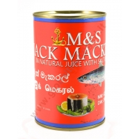 M&S JACK MACKEREL NATURAL - SUGARELLI AL NATURALE 24x425g