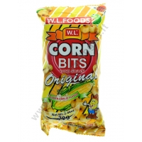 CORN BITS GARLIC - SNACK DI MAIS 100x70g