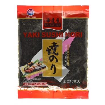 KAITATUYA YAKI SUSHI - ALGHE NORI 50x25g