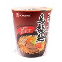NONG SHIM CUP OOLONGMEN BEEF - NOODLES ISTANTANEI 6x75g