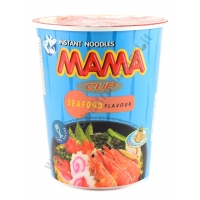 MAMA INSTANT CUP SEAFOOD - NOODLES ISTANTANEI 12/16x70g