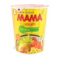 MAMA INSTANT CUP CHICKEN - NOODLES ISTANTANEI 12/16x70g