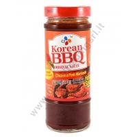 CJ KOREAN BBQ CHICKEN & PORK MARINADE - MARINATA IST 12x480g