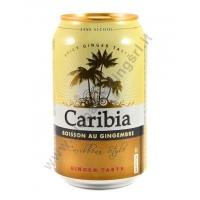 CARIBIA GINGER BEER - BEVANDA ALLO ZENZERO 24x330ml