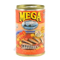 MEGA SARDINES AFRITADA - ALACCE IN SALSA DI VERDURE 48x155g