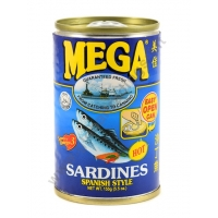 MEGA SARDINES SPANISH STYLE - ALACCE IN SALSA PICCANTE 48x155g