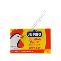 JUMBO DADO POLLO (8pz) 24x80g