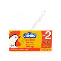 JUMBO DADO POLLO (8+2pz) 24x80/100g