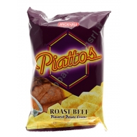 J&J PIATTOS ROAST BEEF - SNACK SALATO 50x85g
