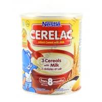 CERELAC 3 CEREALS - CEREALI SOLUBILI 24x400g
