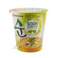 NONG SHIM CUP SOON VEGGIE - NOODLES ISTANTANEI 12x67g