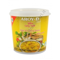 AROY-D CURRY IN PASTA GIALLO 24x400g