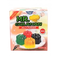 MR GULAMAN RED - PREPARATO PER GELATINA 10x250g