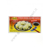 LITTLE CHEF DUMPLINGS SHRIMP & VEGETABLE - RAVIOLI SURGELATI 24x250g