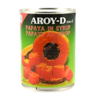 AROY-D PAPAYA IN SCIROPPO 24x565g