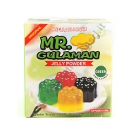 MR GULAMAN GREEN - PREPARATO PER GELATINA 10x250g