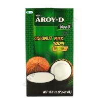 AROY-D COCONUT MILK - LATTE DI COCCO BRICK 24x500ml