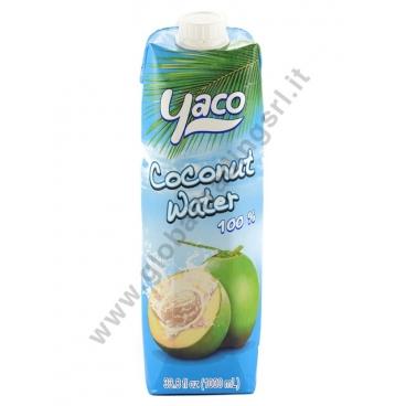 YACO COCONUT WATER - ACQUA DI COCCO 12x1L