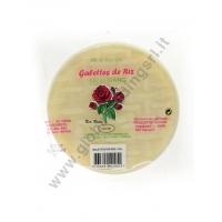 RED ROSES RICE PAPER - SFOGLIE DI RISO (16cm) 44x454g