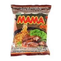 MAMA INSTANT NOODLES STEW BEEF 30x60g