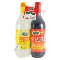 UFC VALUE PACK - SALSA DI SOIA + ACETO 6x1L
