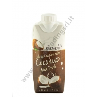 ELEMENTS COCONUT MILK - BEVANDA AL COCCO 12x330ml