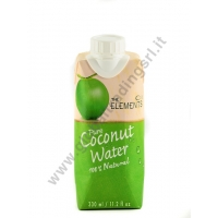 ELEMENTS COCONUT WATER - BEVANDA AL COCCO 12x330ml