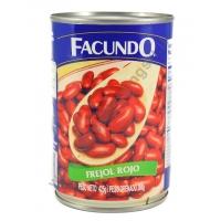 FACUNDO FREJOL ROJO -  FAGIOLI ROSSI AL NATURALE 24x425g