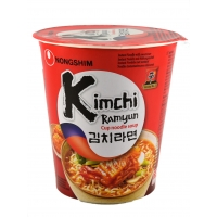 NONG SHIM CUP KIMCHI RAMYUN - NOODLES ISTANTANEI 12x75g